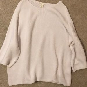 H&M white sweater, Size XL